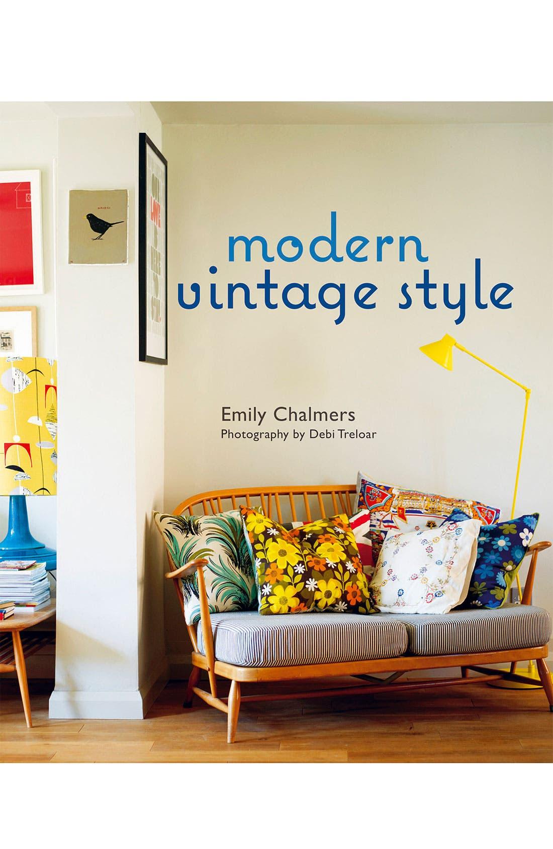 Alternate Image 1 Selected - 'Modern Vintage Style' Interior Design Book