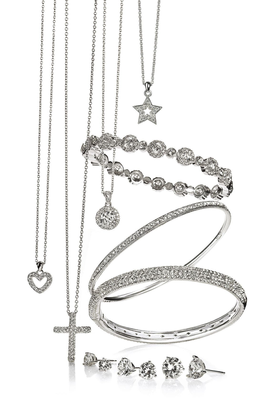 Alternate Image 2  - Nadri Cross Pendant Necklace (Nordstrom Exclusive)