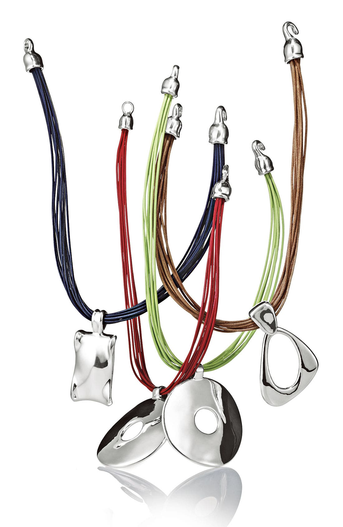 Alternate Image 3  - Simon Sebbag Multistrand Leather Necklace