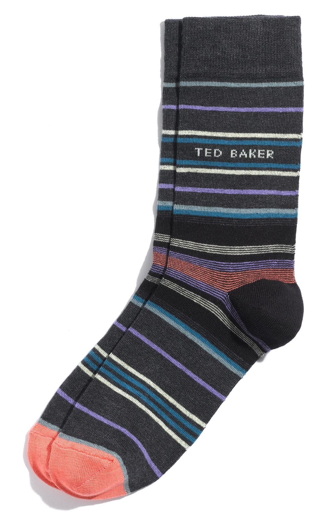 Main Image - Ted Baker London Stripe Socks