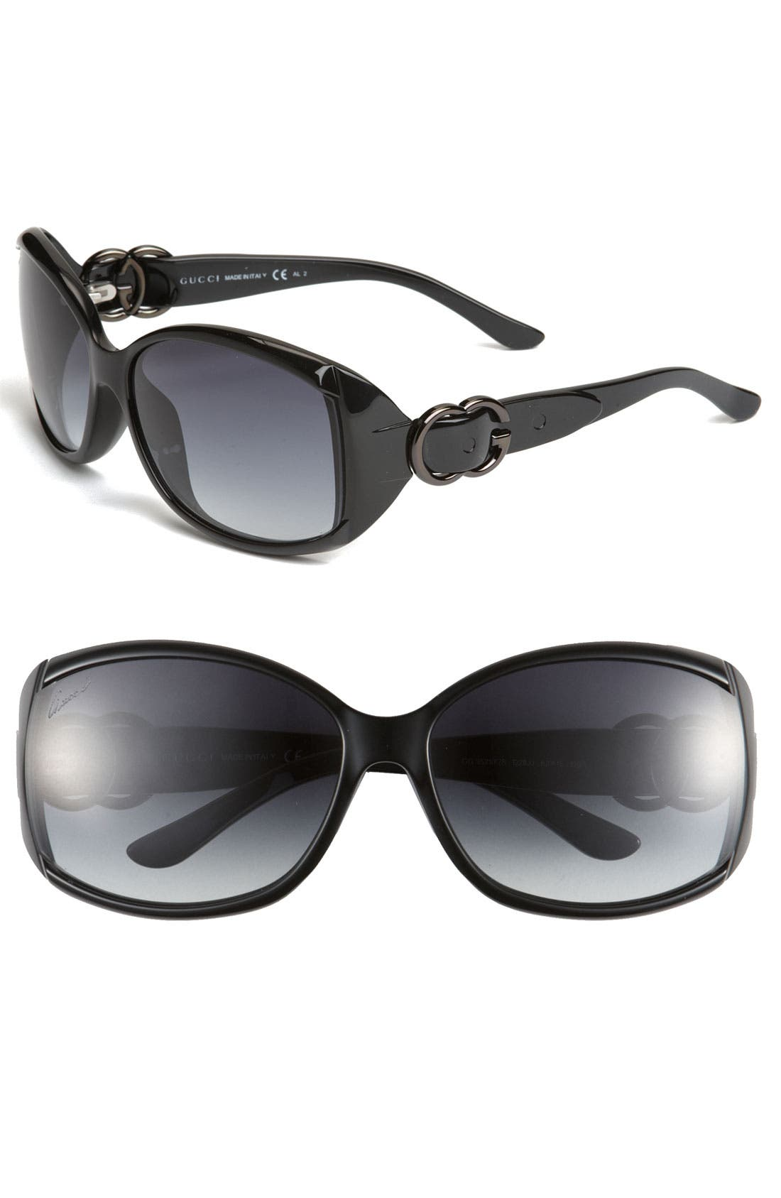 Main Image - Gucci 58mm Oversized Sunglasses