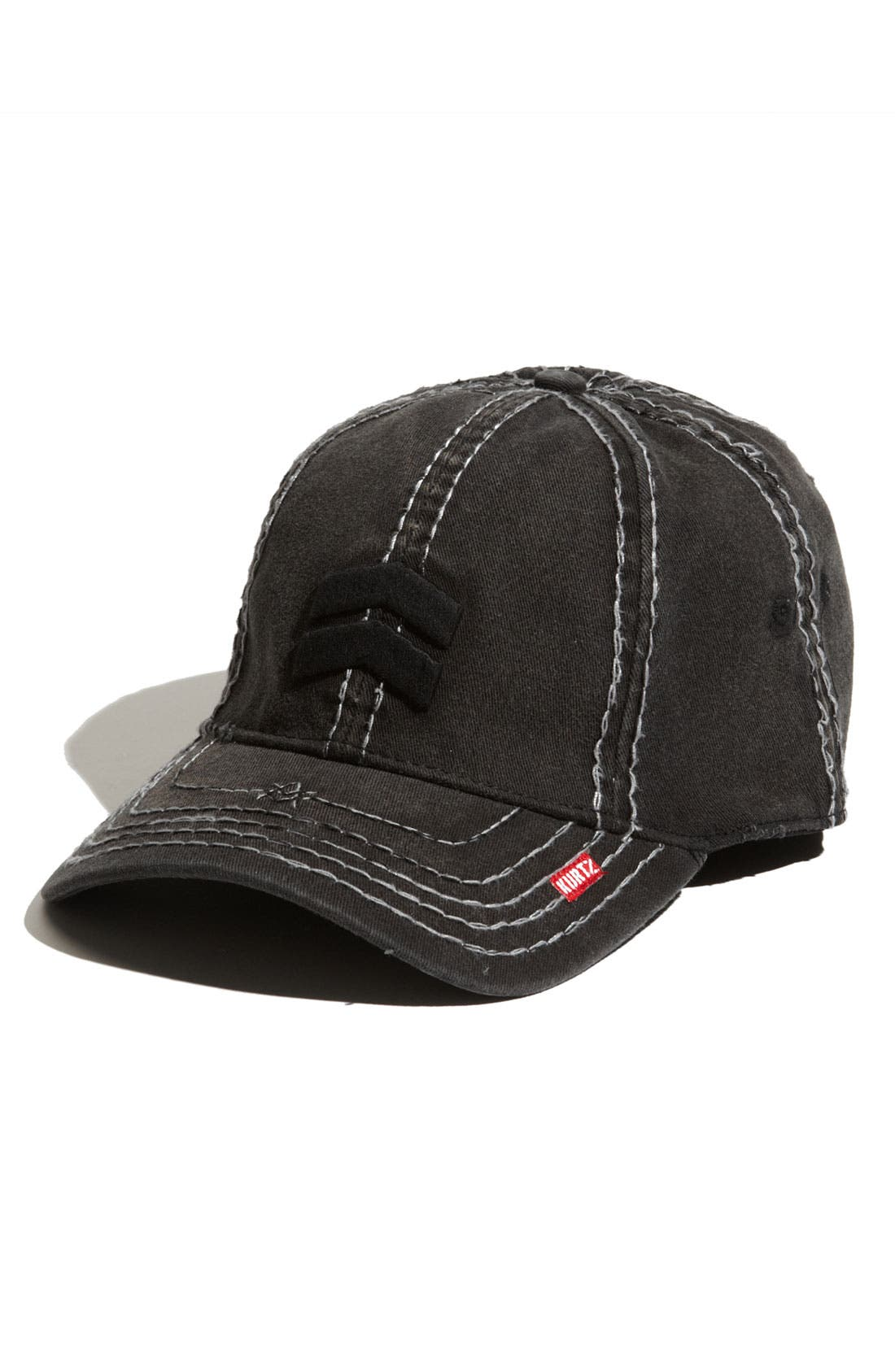 'Albert Aflex' Cap,                             Main thumbnail 1, color,                             Black