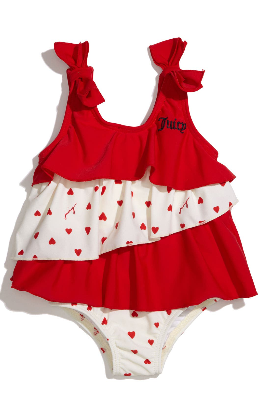 Main Image - Juicy Couture One Piece Swimsuit (Infant)