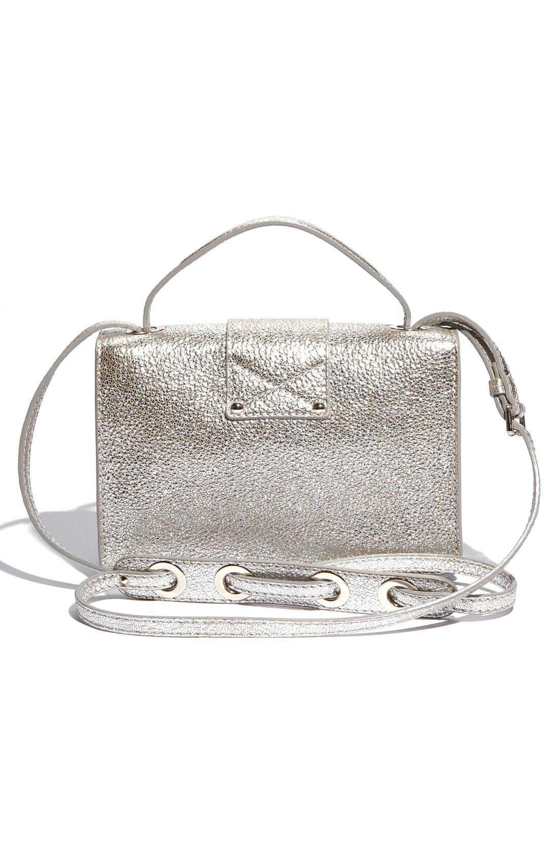 Alternate Image 4  - Jimmy Choo 'Rebel Mini' Glitter Leather Crossbody Bag