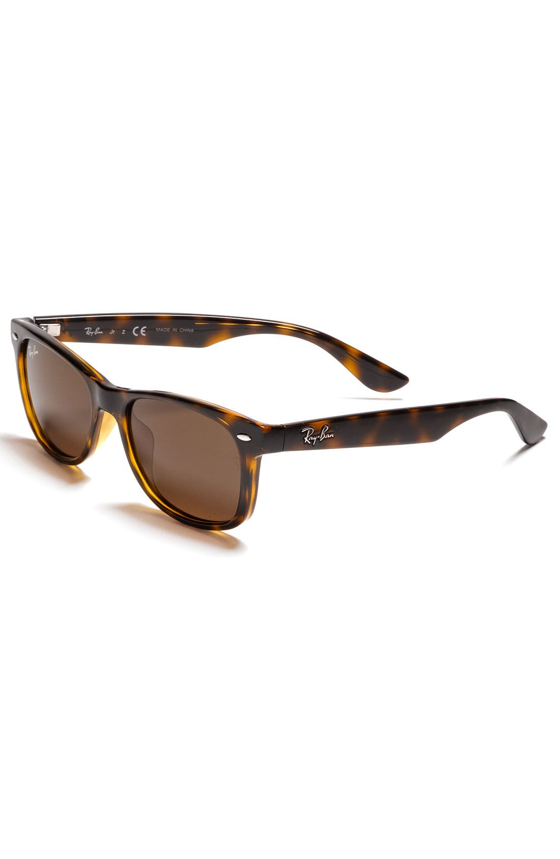 Main Image - Ray-Ban Wayfarer 47mm Sunglasses (Big Boys)