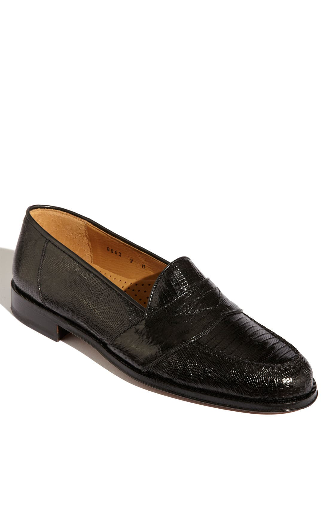 Alternate Image 1 Selected - Magnanni 'Raul' Lizard Loafer
