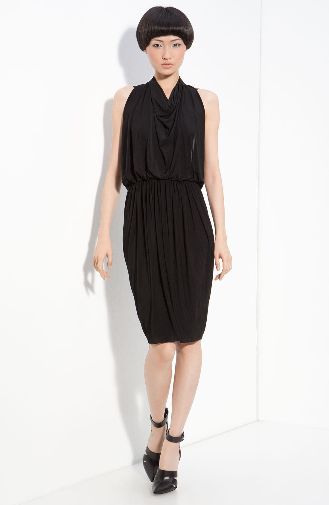 Alternate Image 1 Selected - Alexander Wang Drape Back Halter Dress
