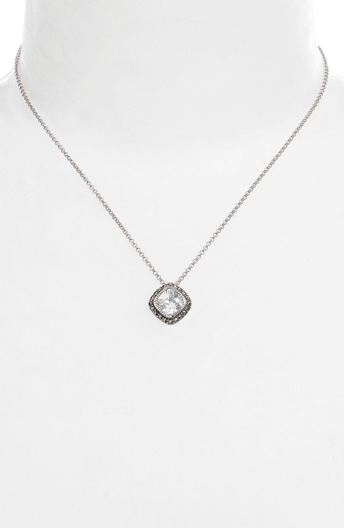 Main Image - Judith Jack 'Aquarius' Small Pendant Necklace