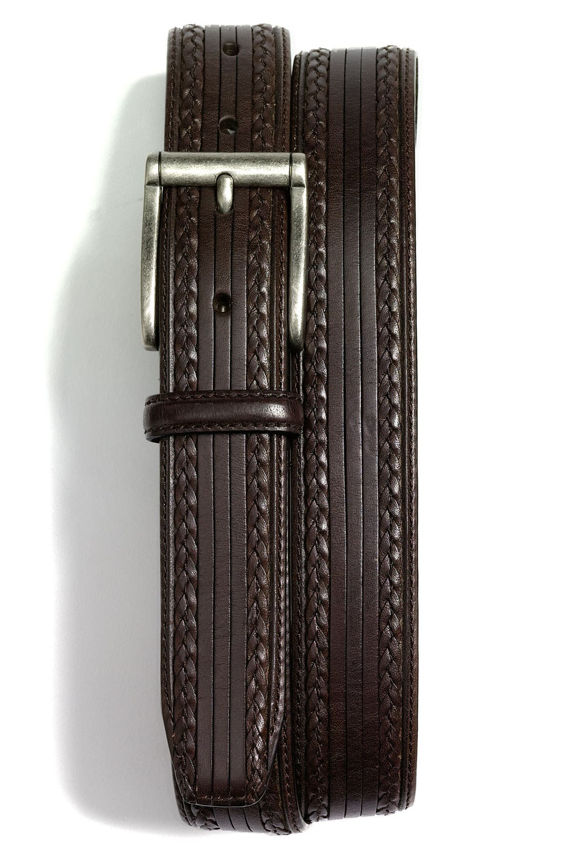 Alternate Image 1 Selected - Tommy Bahama 'South Beach' Leather Belt