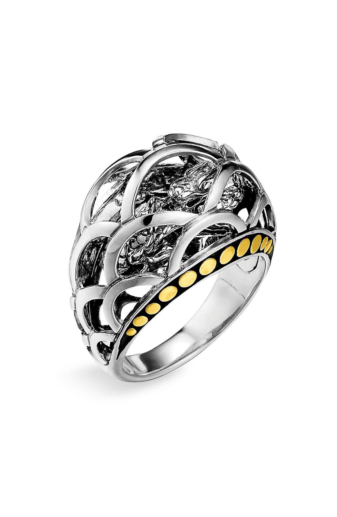 Main Image - John Hardy 'Naga' Small Dome Ring