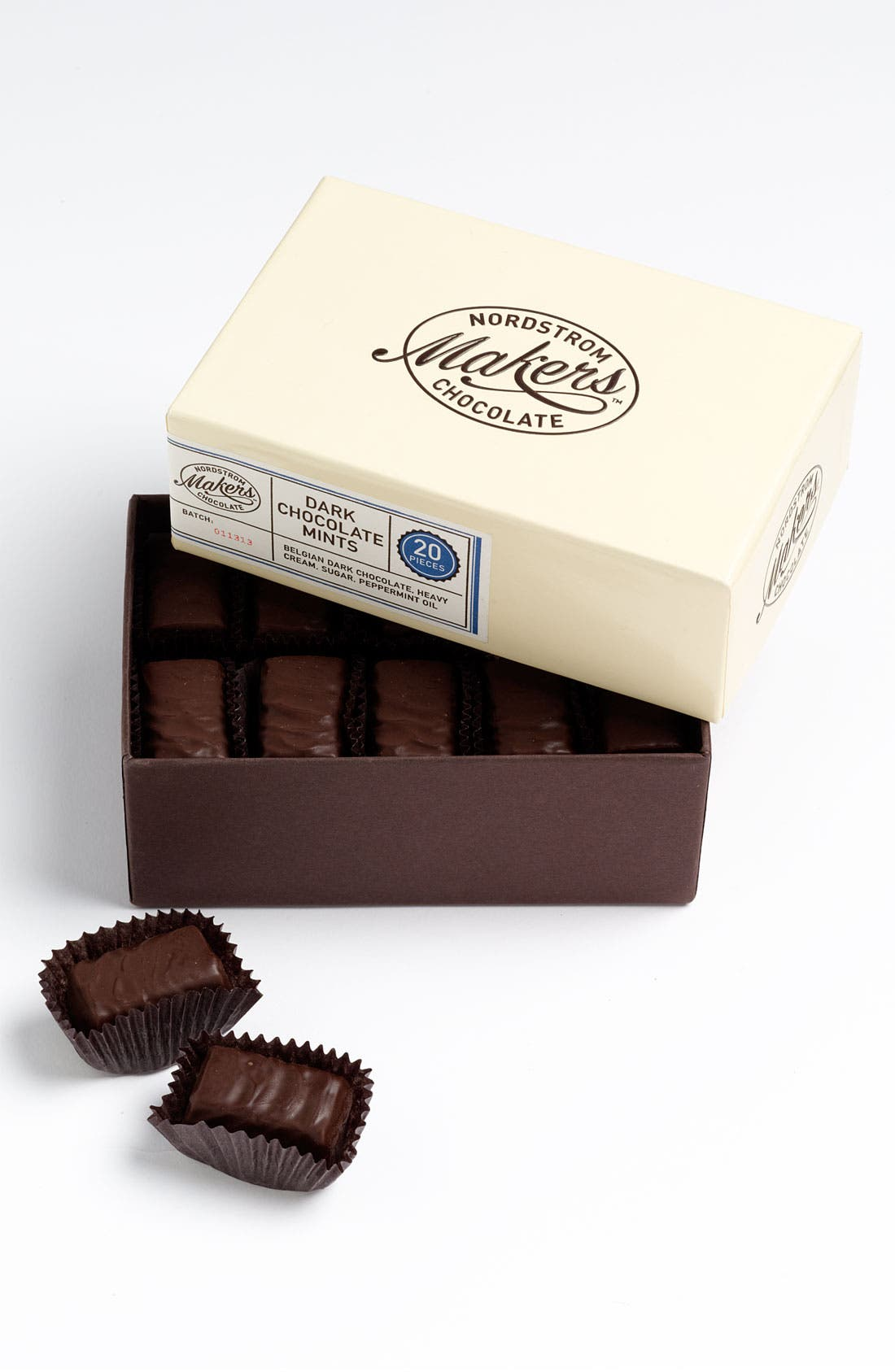 Main Image - Nordstrom Makers Chocolate Dark Chocolate Mints (20 Pieces)