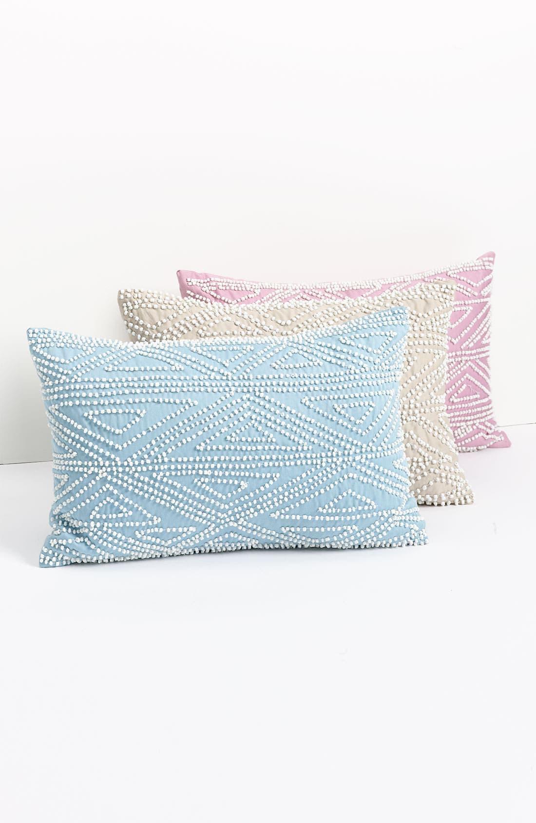 Alternate Image 1 Selected - Diane von Furstenberg 'Batik Beaded' Pillow
