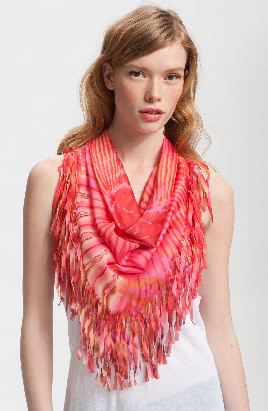 Alternate Image 1 Selected - Collection XIIX 'Tie Dye Burst' Scarf