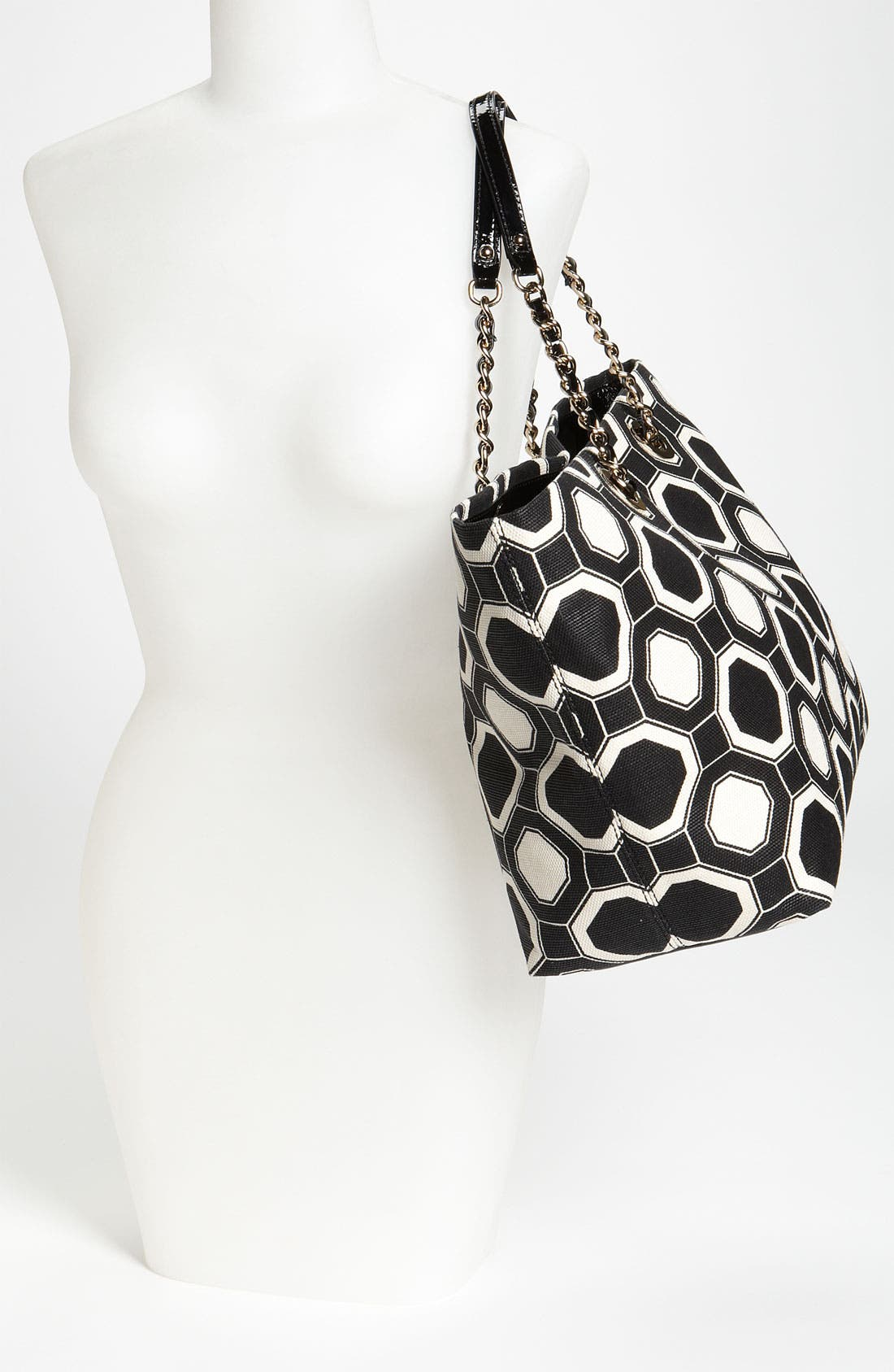 Alternate Image 2  - kate spade new york 'coal - small' fabric tote