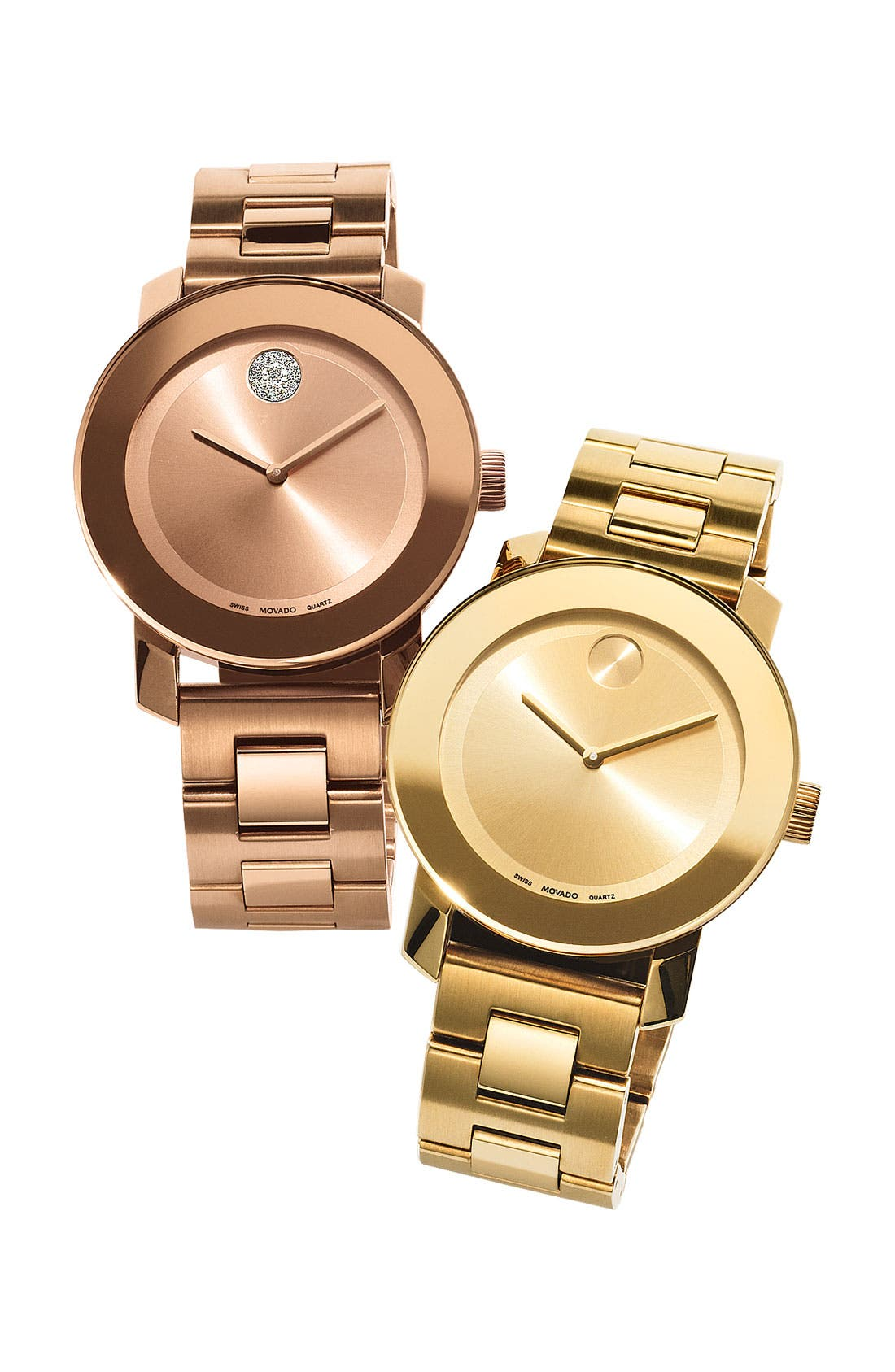 'Bold' Crystal Marker Bracelet Watch, 36mm,                             Alternate thumbnail 4, color,
