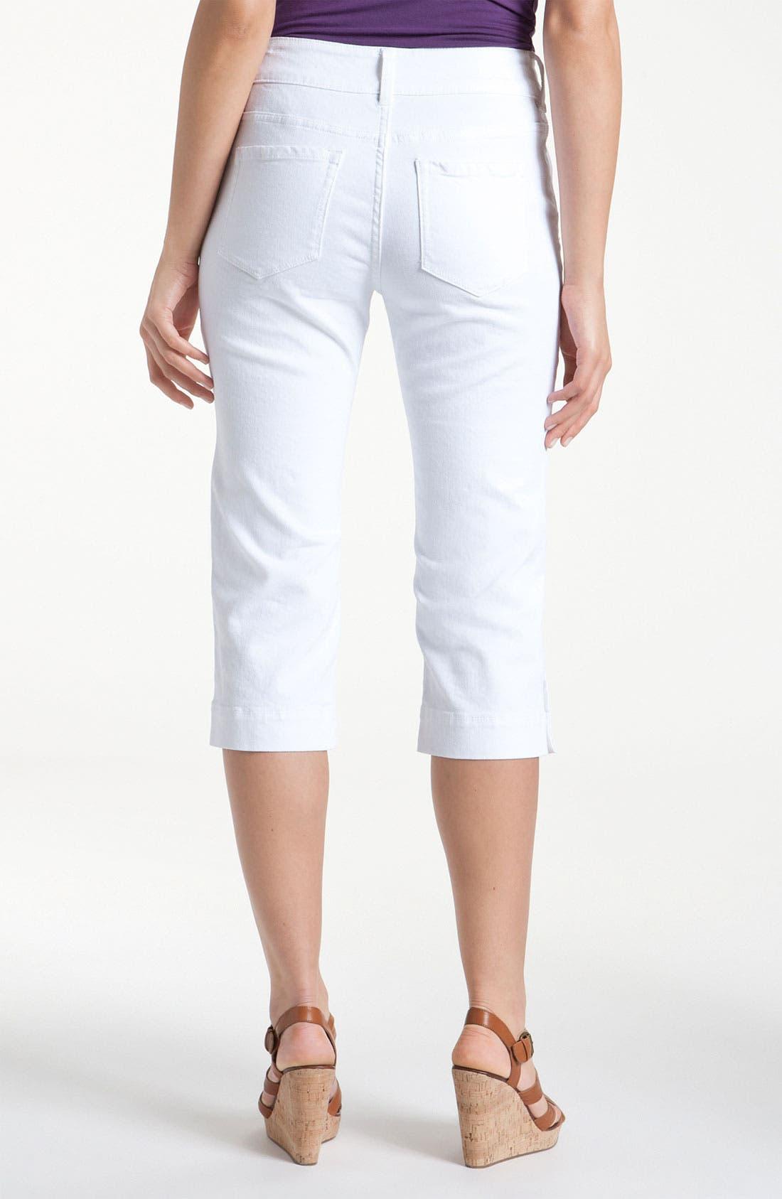 Alternate Image 2  - NYDJ 'Cameron' Crop Stretch Jeans