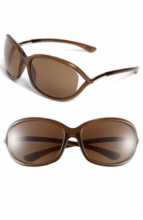 97f5563d243e Tom Ford Jennifer 61mm Polarized Open Temple Sunglasses