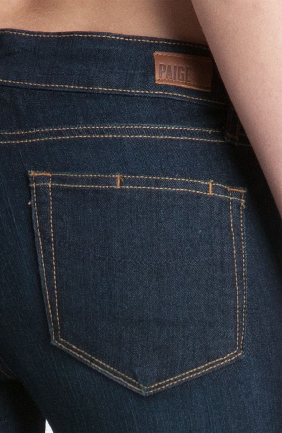 Alternate Image 3  - Paige Denim 'Kylie' Crop Skinny Jeans (Stream)