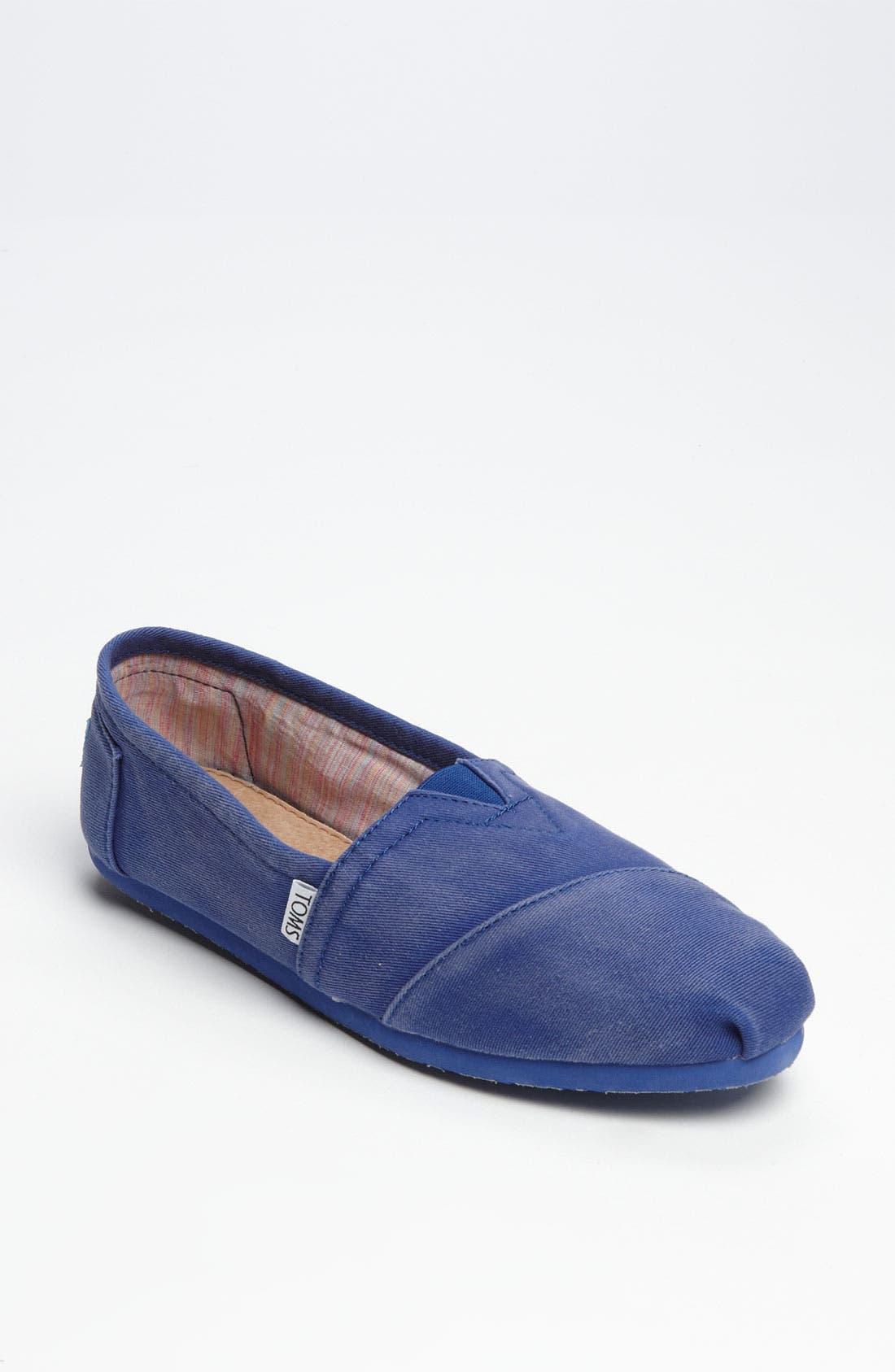 'Seasonal Classic - Palmetto' Slip-On,                             Main thumbnail 1, color,                             Blue