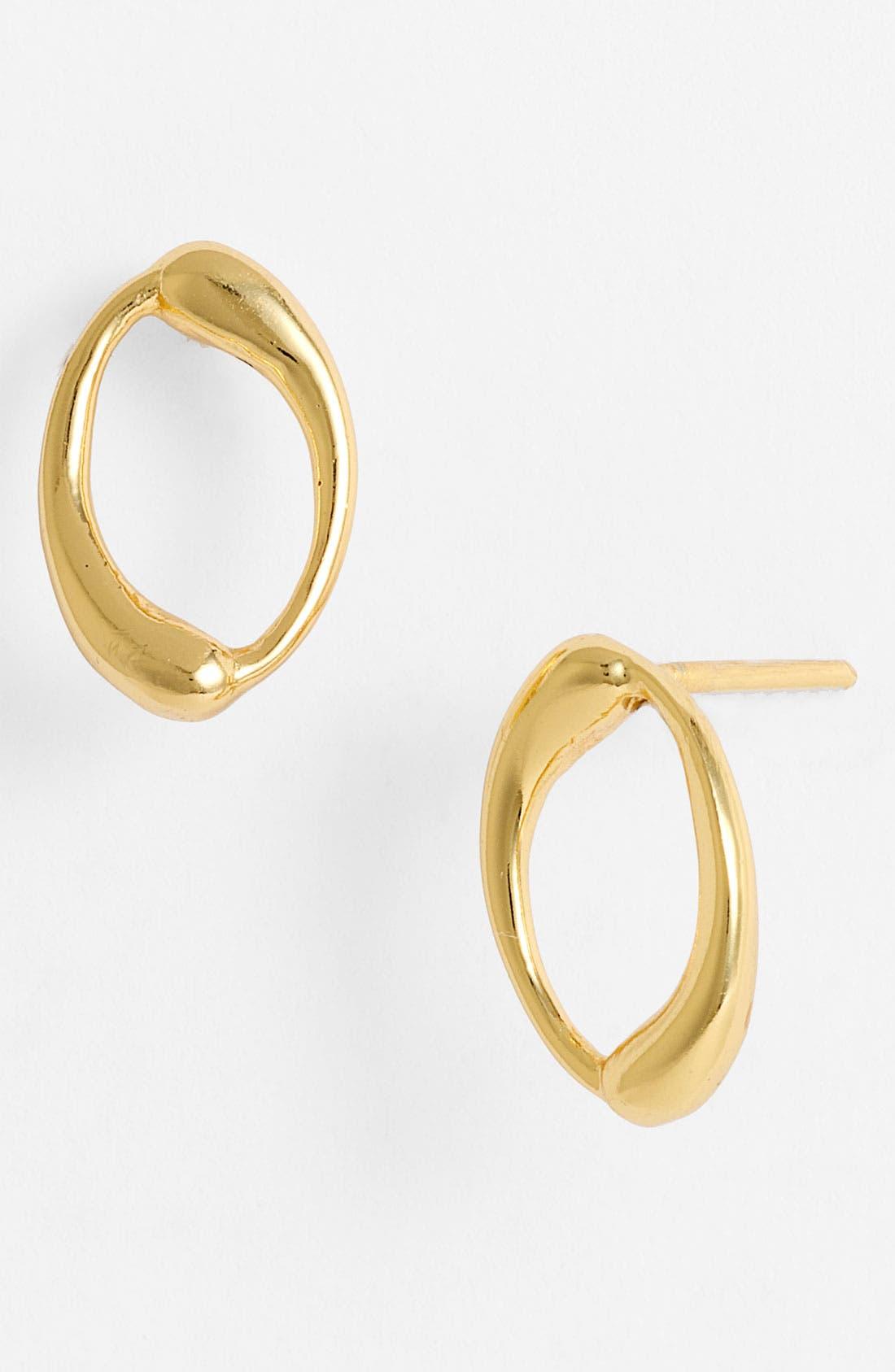 Alternate Image 1 Selected - Argento Vivo Open Stud Earrings (Online Only)