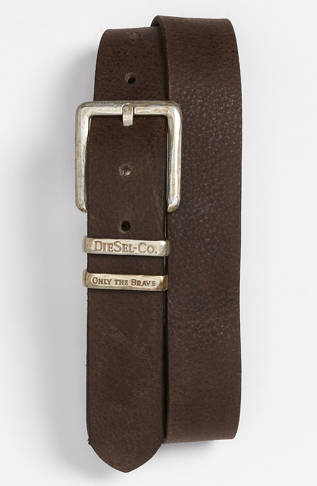 Alternate Image 1 Selected - DIESEL® 'Brina' Leather Belt