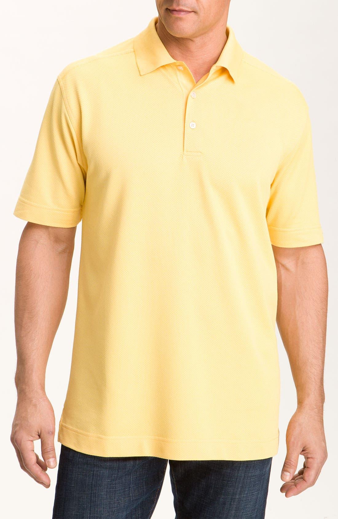 Alternate Image 1 Selected - Cutter & Buck 'Nano' DryTec Golf Polo (Big & Tall)