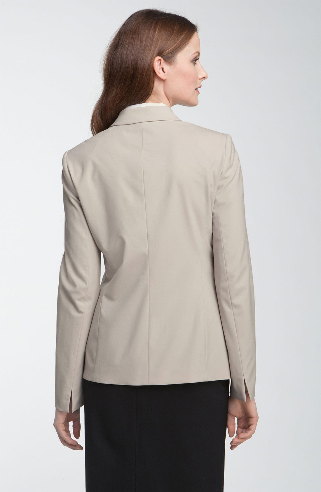 Alternate Image 2  - Lafayette 148 New York 'Ashford' One Button Jacket
