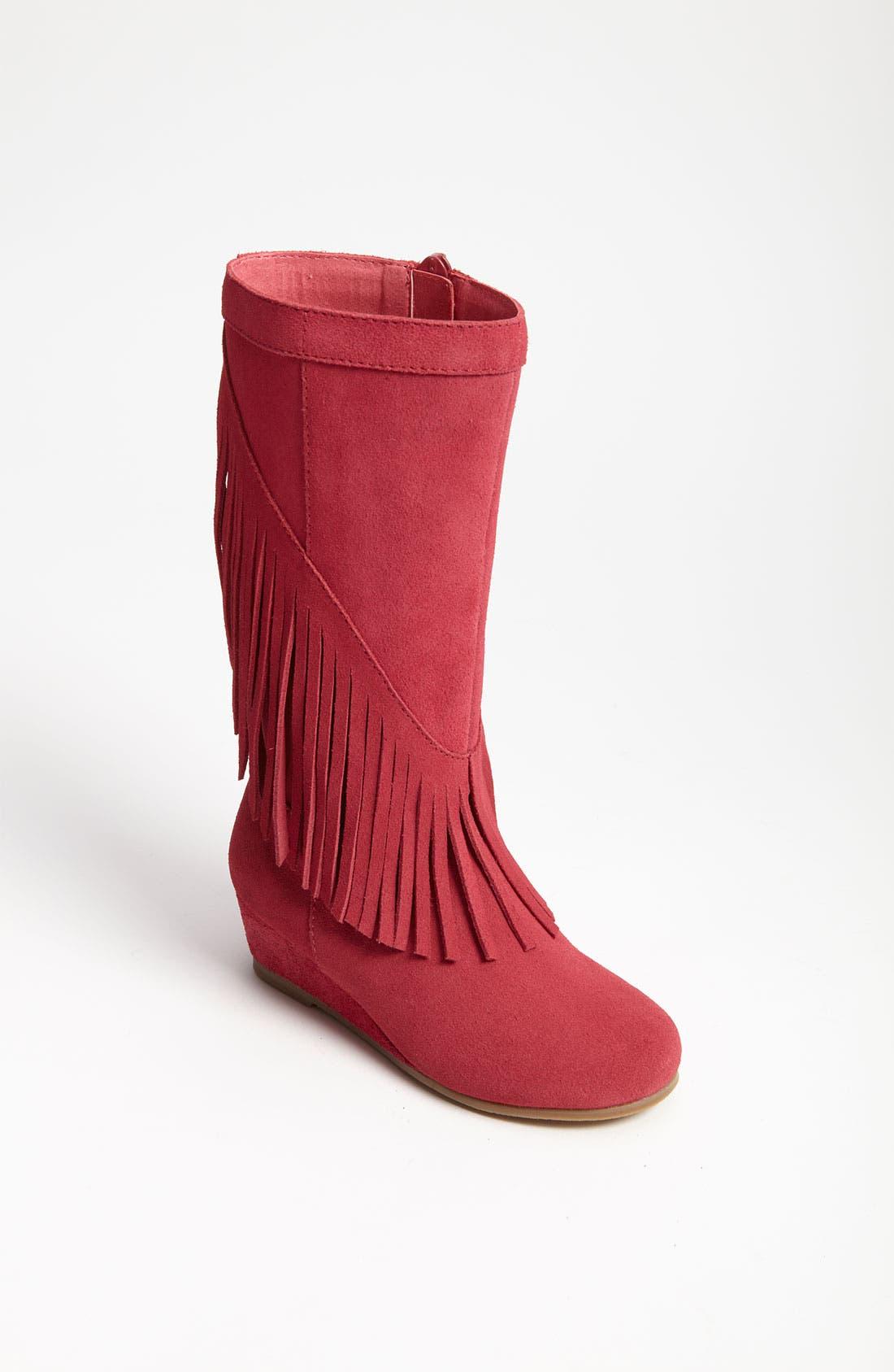 Alternate Image 1 Selected - Steve Madden 'Fringey' Boot (Toddler)