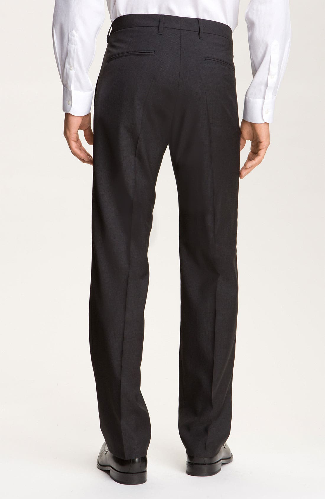Alternate Image 2  - BOSS Black 'Cagan Comfort Fit' Linen Blend Pants