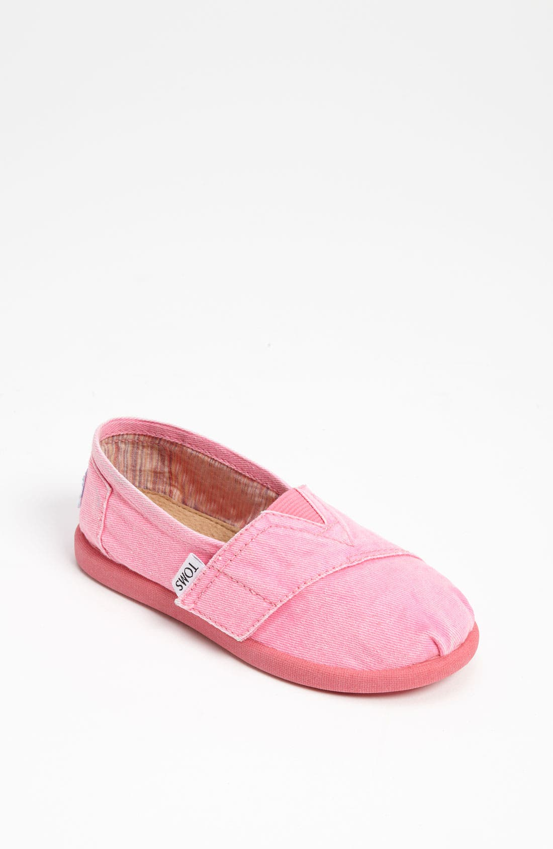 Alternate Image 1 Selected - TOMS 'Classic Tiny - Palmetto' Canvas Slip-On (Baby, Walker & Toddler)