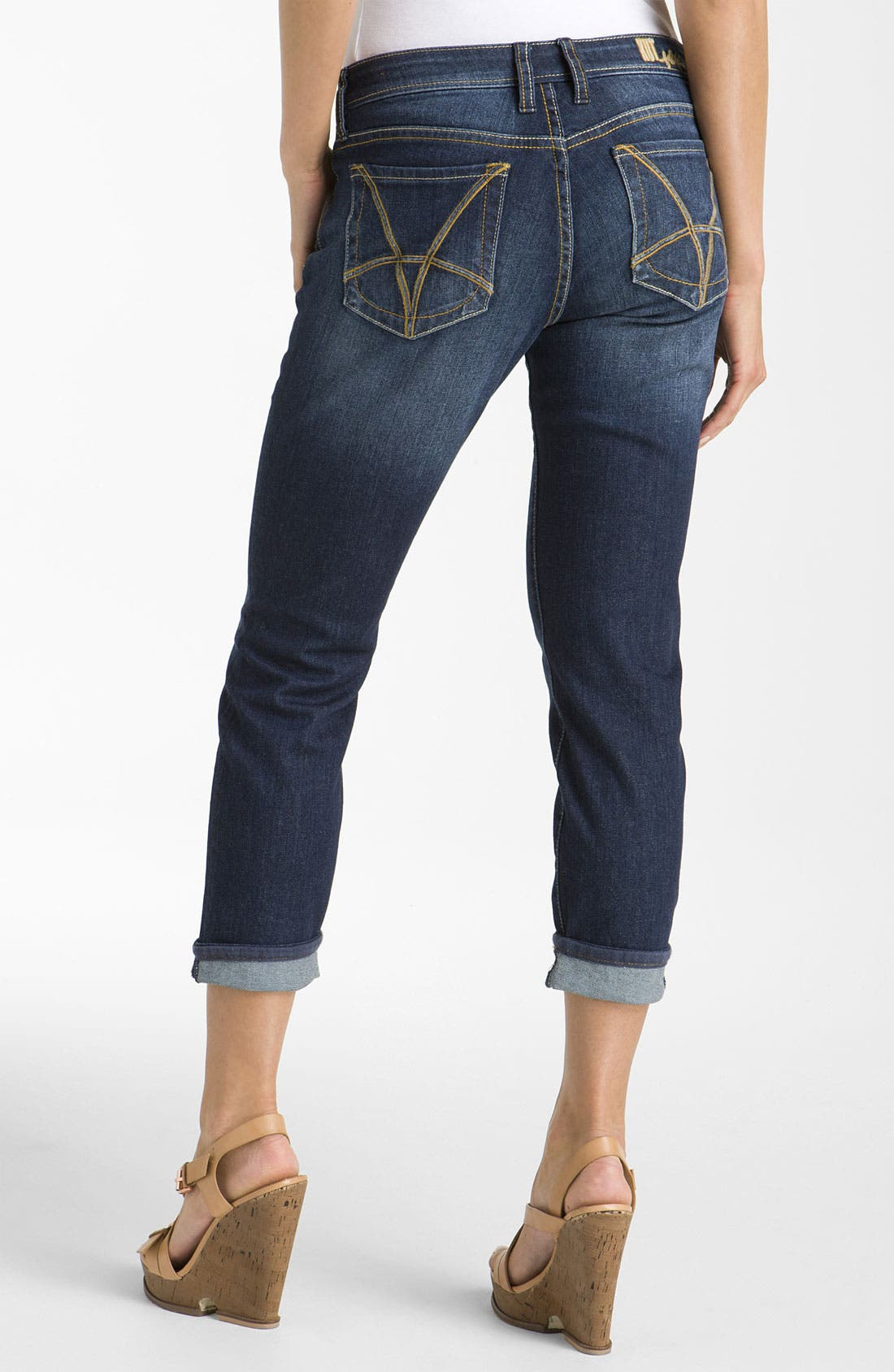 Alternate Image 2  - KUT from the Kloth 'Catherine' Slim Boyfriend Jeans (Gratitude Wash)