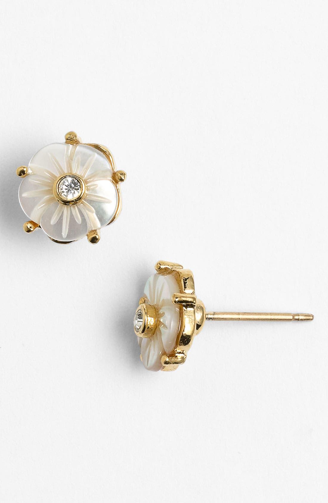 Main Image - kate spade new york 'crystal corsage' stud earrings