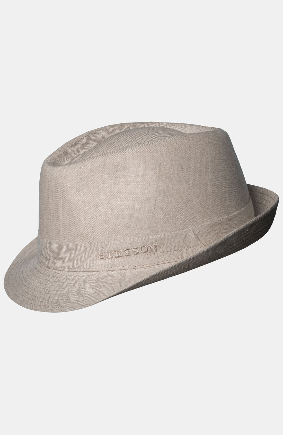 Alternate Image 1 Selected - Stetson Linen Fedora