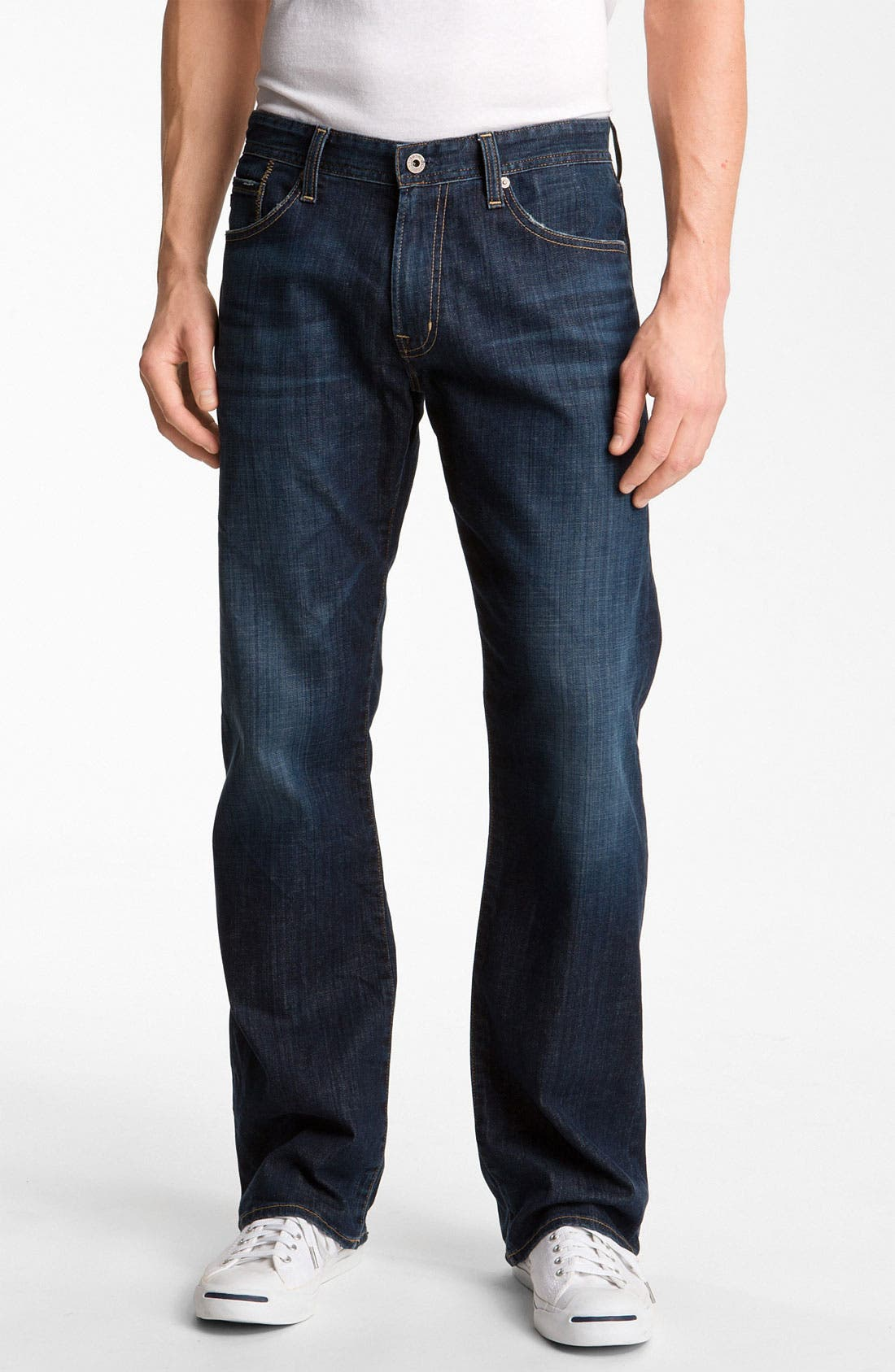 Alternate Image 1 Selected - AG Jeans 'Hero' Relaxed Fit Jeans (Kearney)