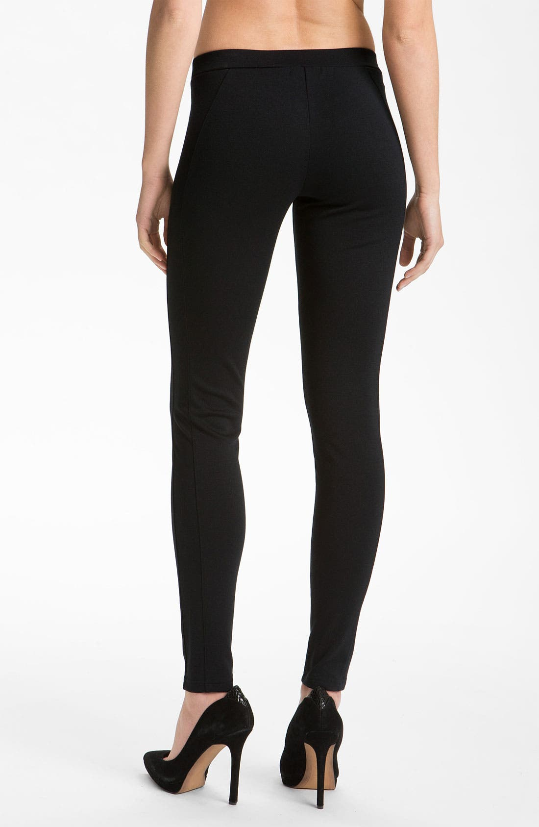 Alternate Image 1 Selected - Trouvé Seamed Ponte Leggings