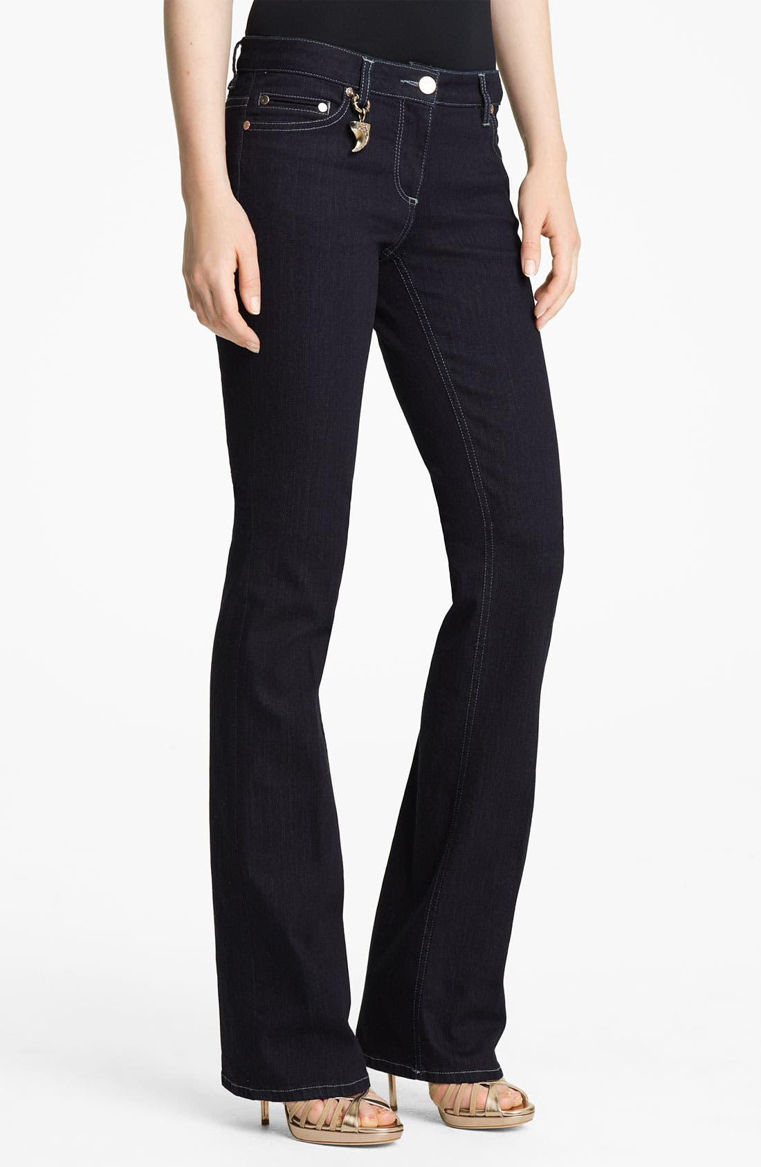 Alternate Image 1 Selected - Roberto Cavalli Bootcut Stretch Jeans