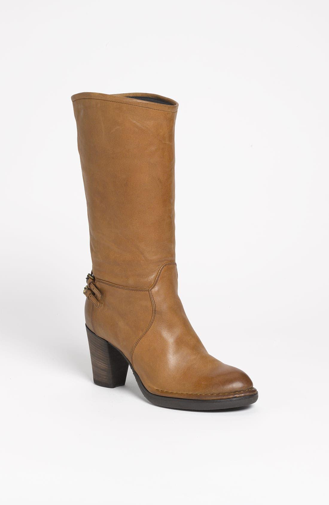 Alternate Image 1 Selected - Alberto Fermani Mid Heel Boot (Nordstrom Exclusive)