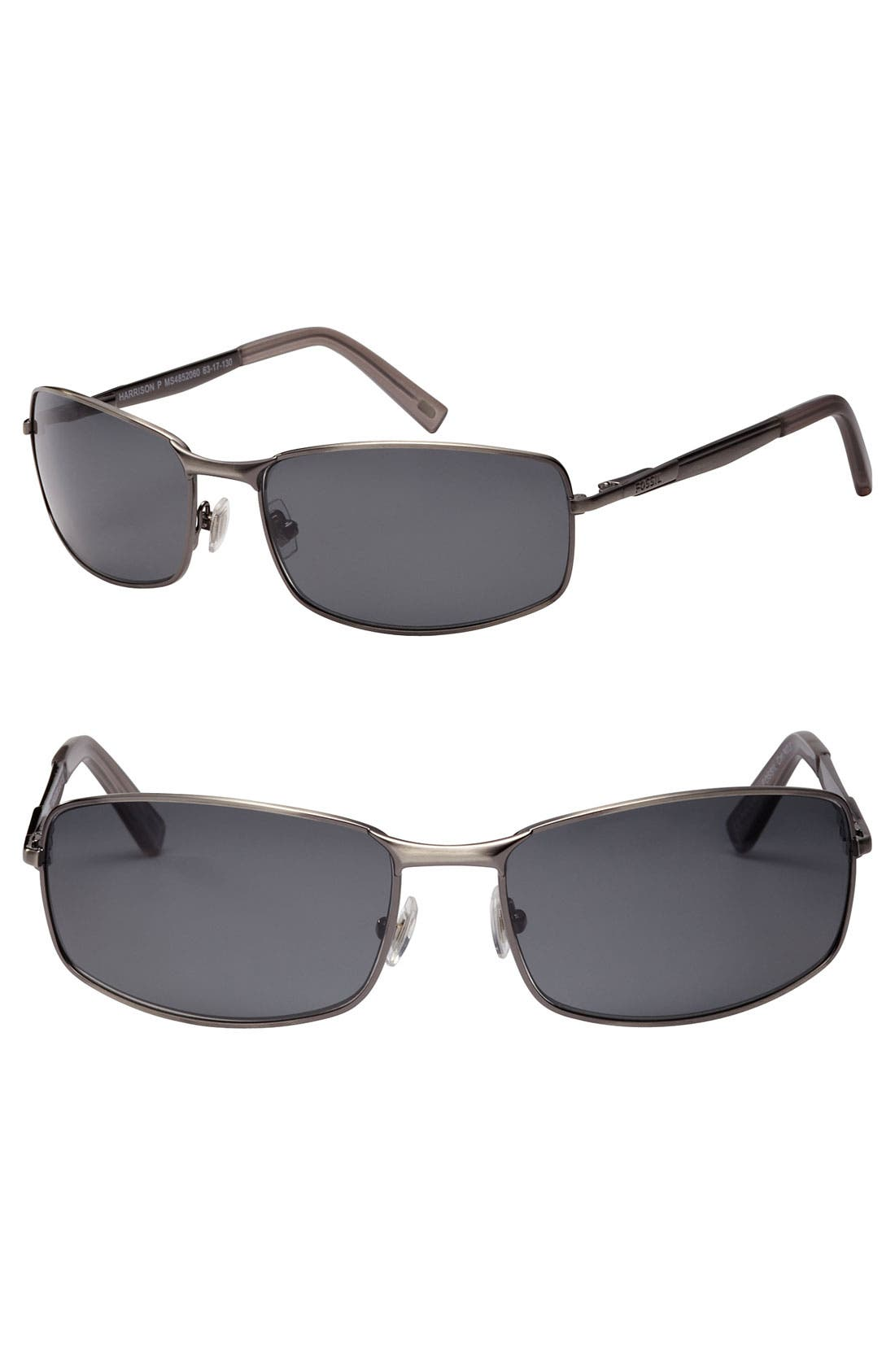 Main Image - Fossil 'Harrison' Polarized Sunglasses