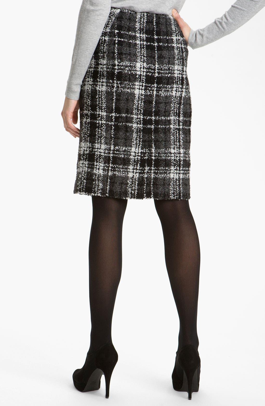 Alternate Image 2  - Halogen® Double Button Pencil Skirt
