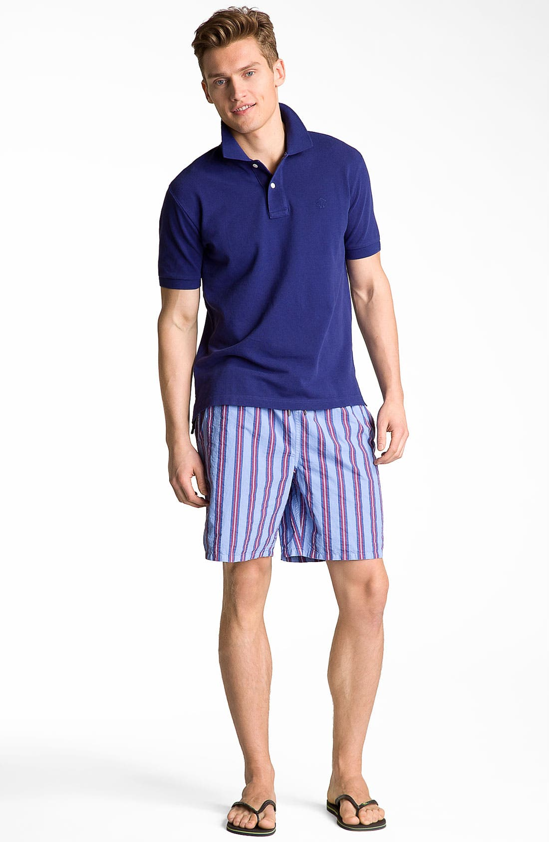 Alternate Image 4  - Brooks Brothers Washed Piqué Polo