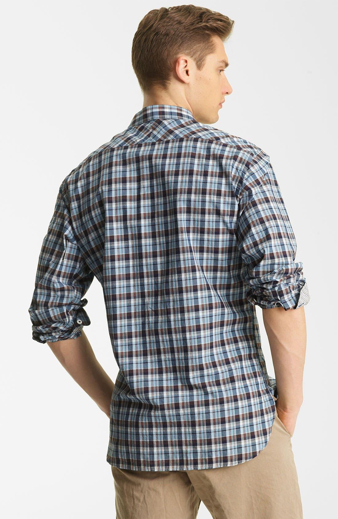 Alternate Image 2  - Billy Reid 'Bagwelt' Plaid Woven Shirt