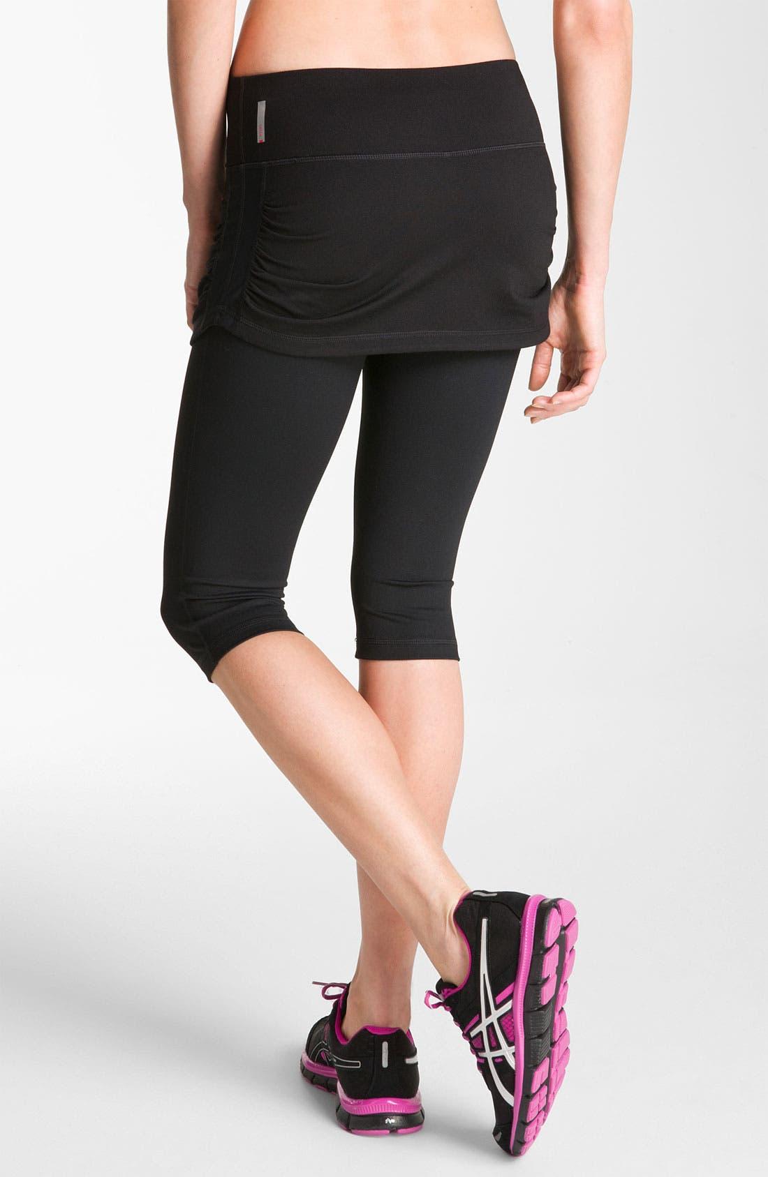 Alternate Image 2  - Zella 'Work It' Skirted Shorts