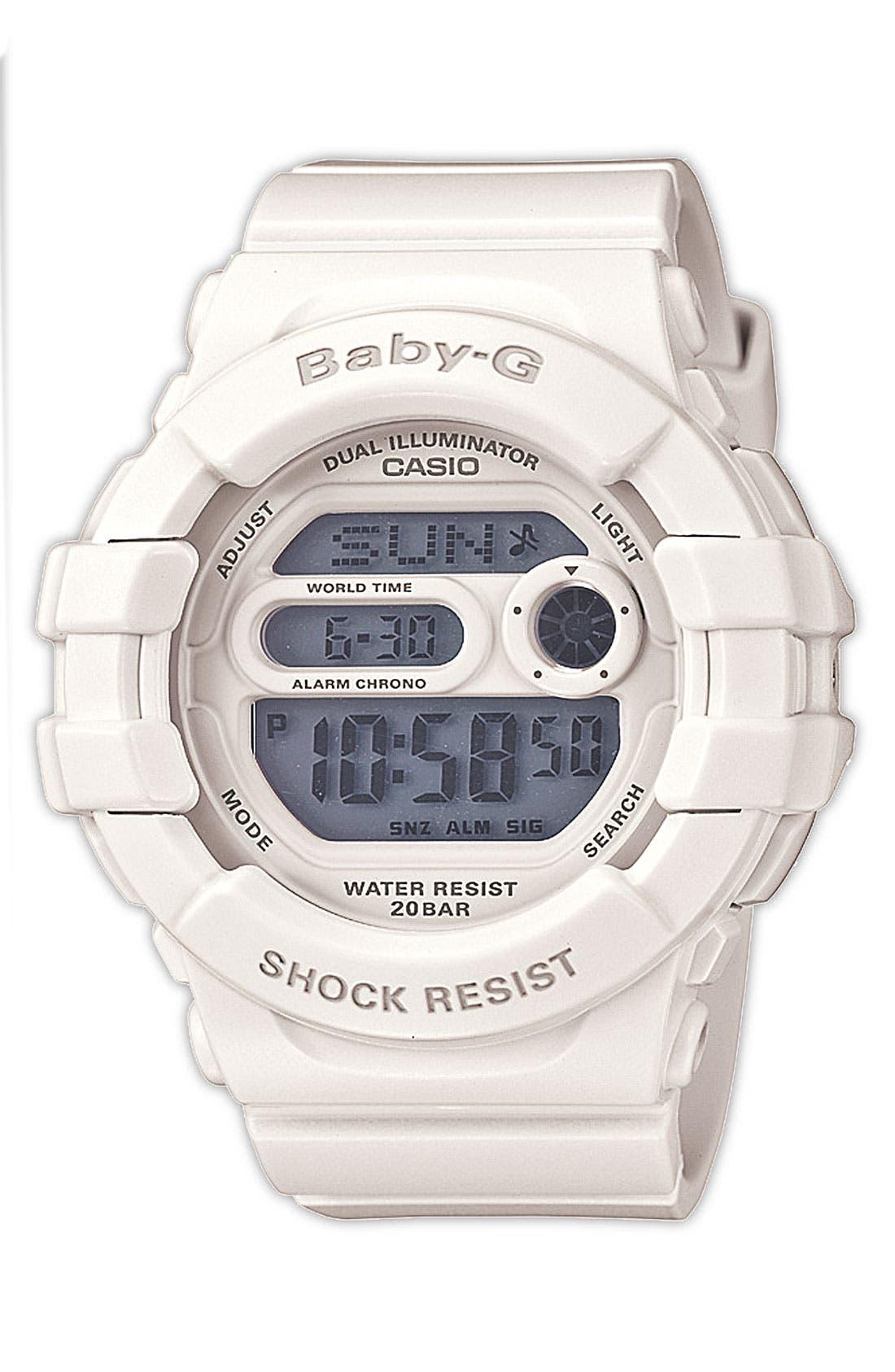 Main Image - Baby-G 'Dual Illuminator' Digital Watch, 42mm