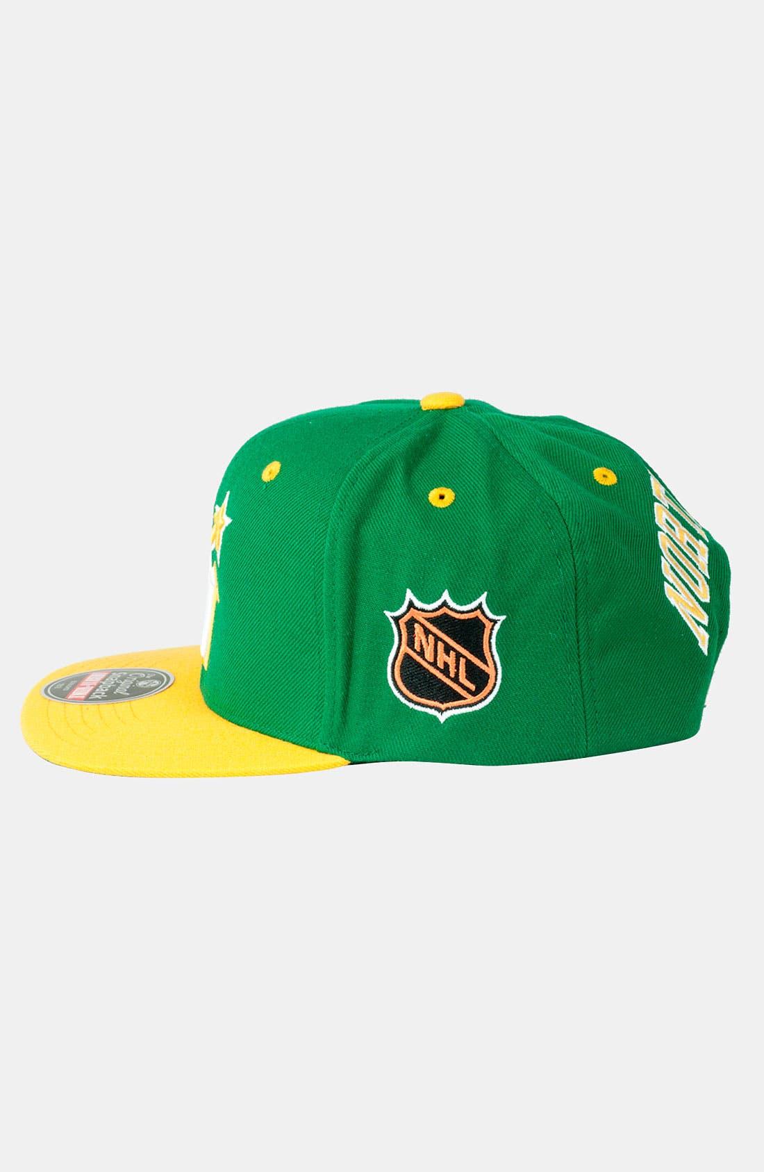 Alternate Image 2  - American Needle 'North Stars - Blockhead' Snapback Baseball Cap