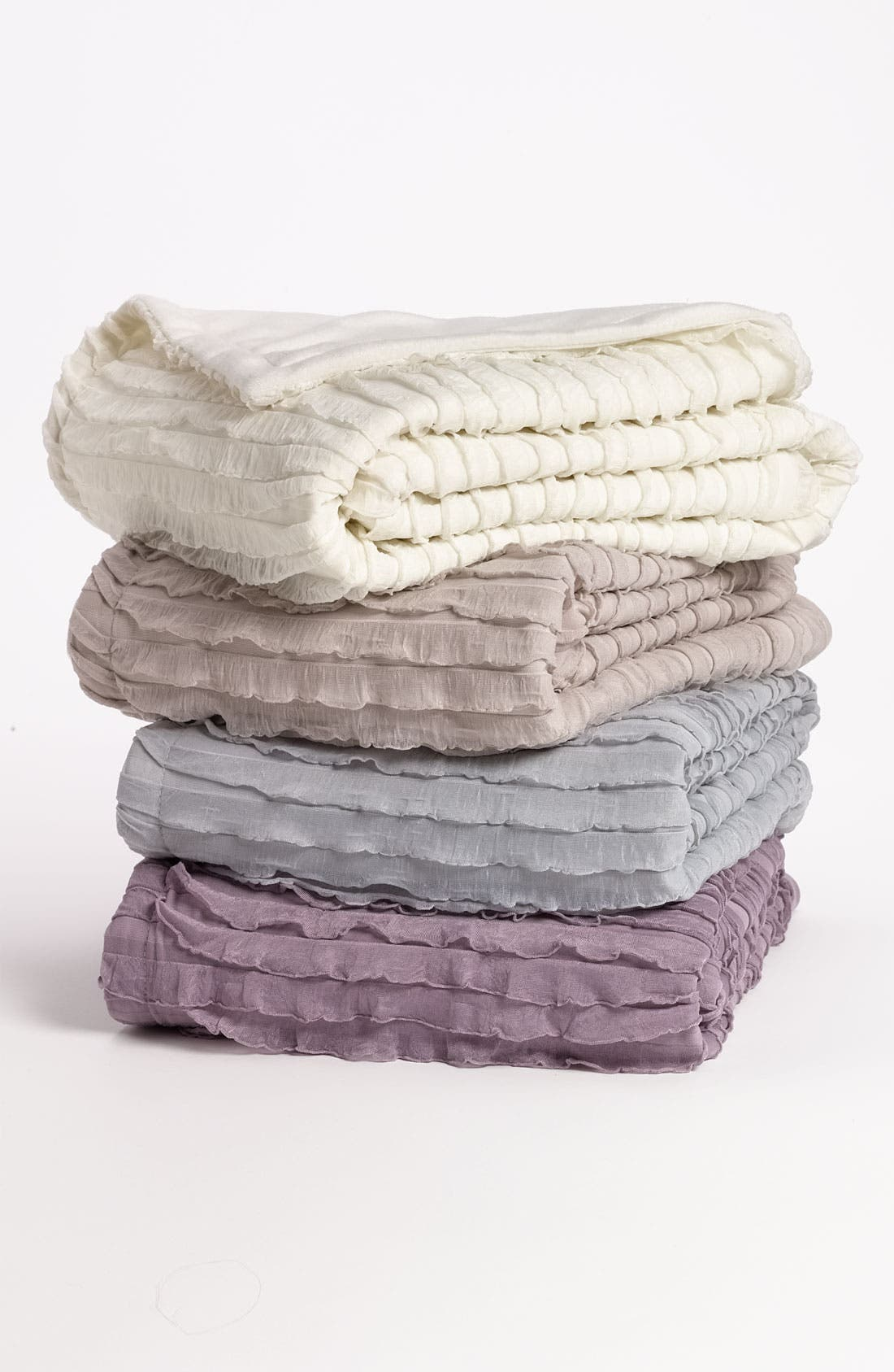 Main Image - Kennebunk Home 'Ruffles' Throw (Nordstrom Exclusive)