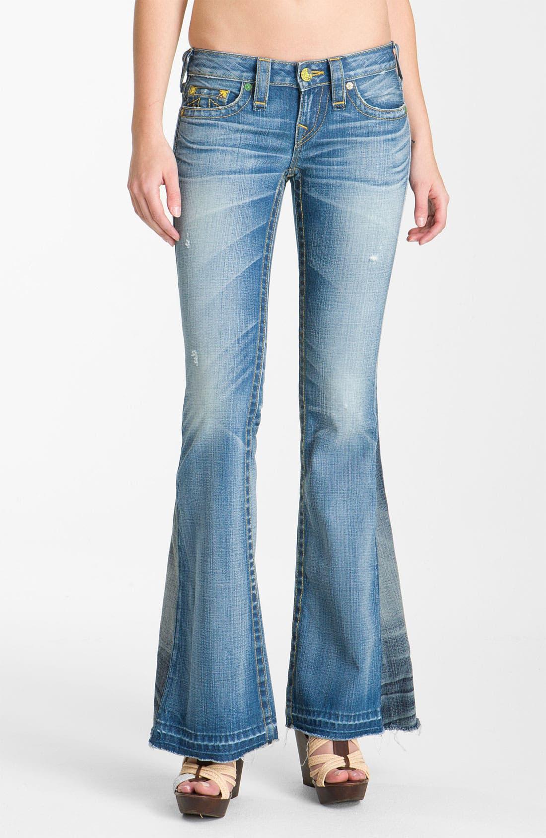 Main Image - True Religion Brand Jeans 'Bobby' Flare Leg Jeans (Arlington)