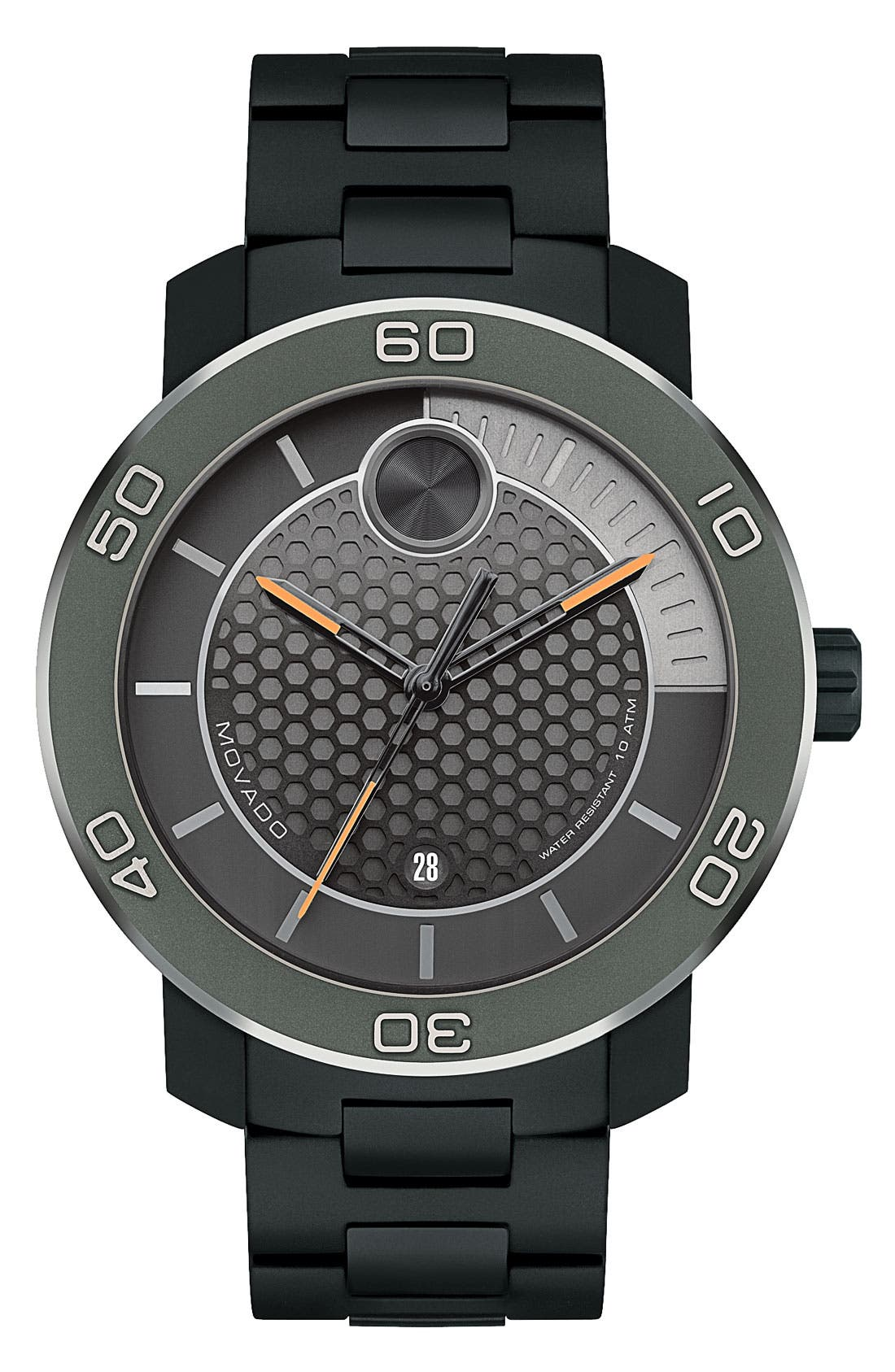 Main Image - Movado 'Bold' Bracelet Watch, 46mm