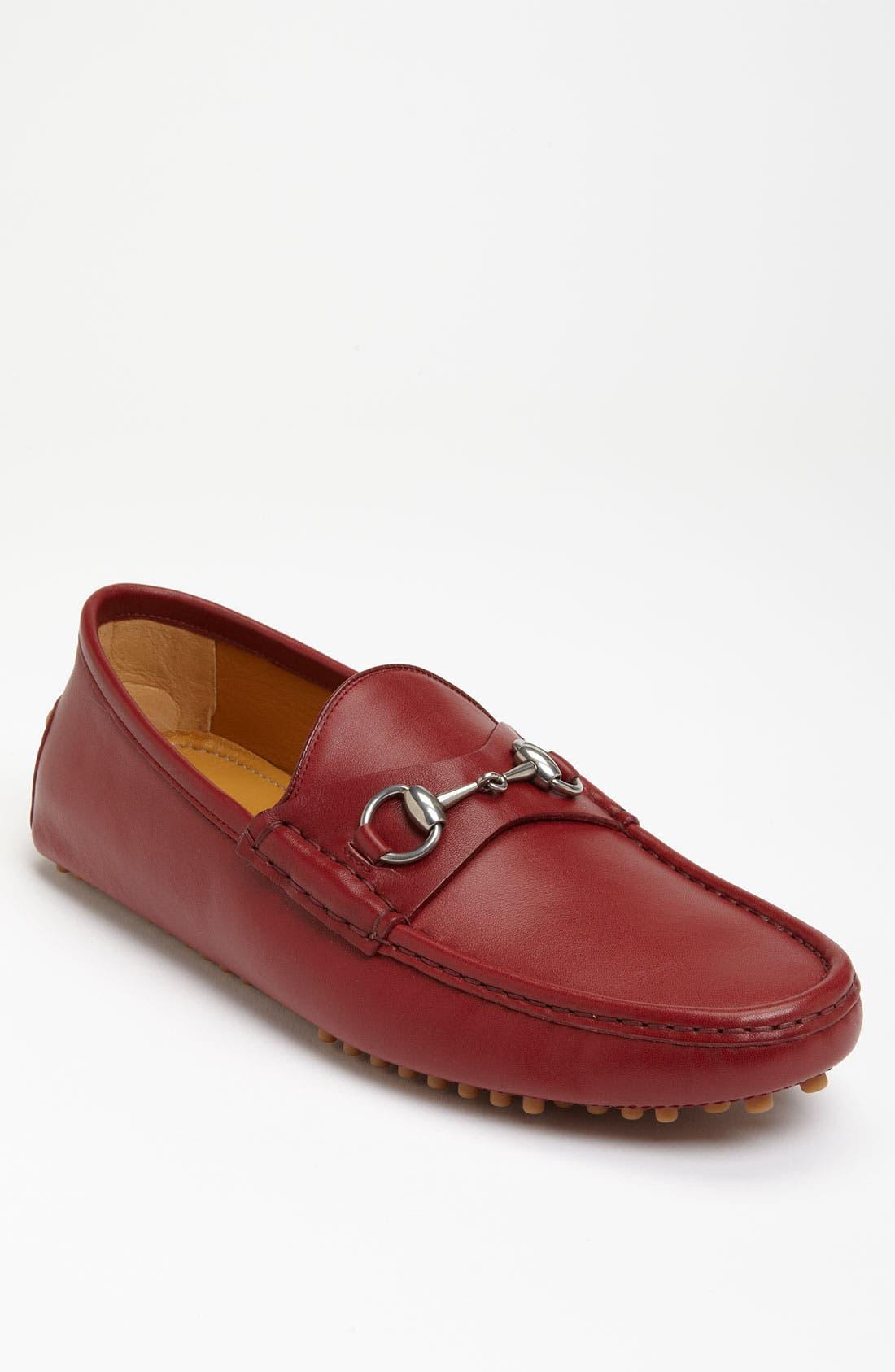 Alternate Image 1 Selected - Gucci 'Damo' Driving Shoe