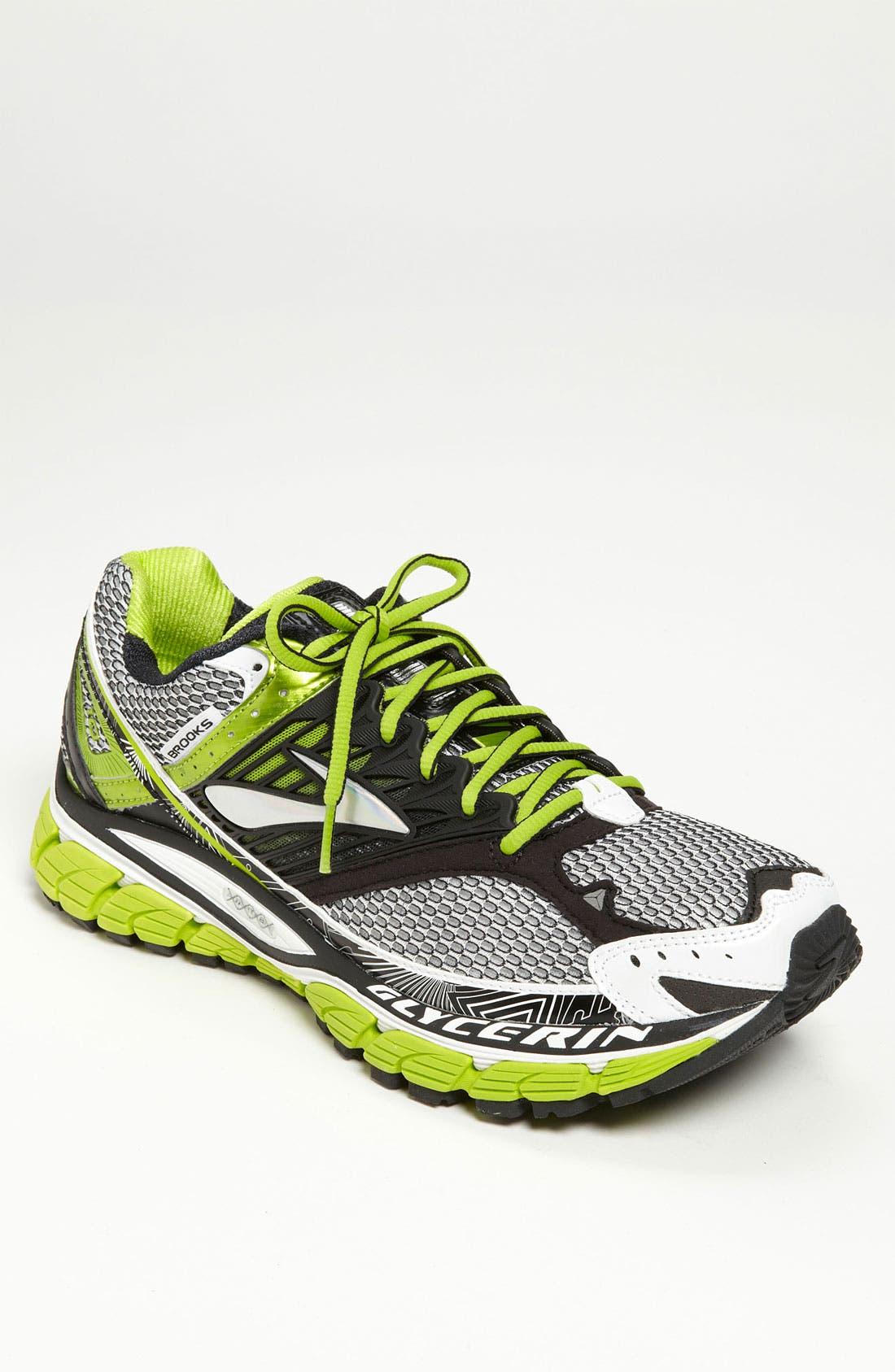 Alternate Image 1 Selected - Brooks 'Glycerin 10' Running Shoe (Men)