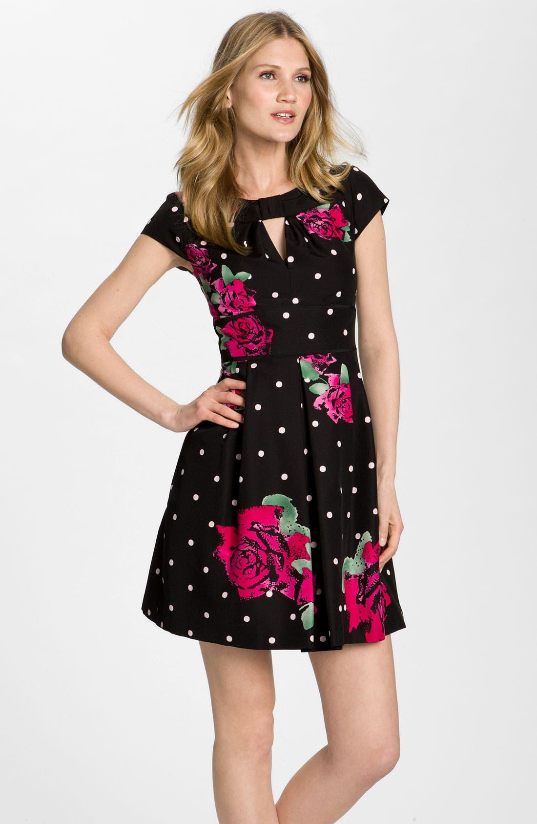Alternate Image 1 Selected - Nanette Lepore 'Bouquet' Print Dress